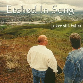 """Etched in Song"" was released in June of 2003 and is a collection of eight originals by Daniel and eight originals by his partner in Lukenbill-Faller, Marty Lukenbill.  The songs are recorded very well and you'll love the lyrical content in nuggets like ""Normal Girls and Boys"" and ""Memories to Save""."